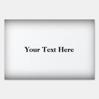 Customizable Add Your Text Black Framed Yard Sign