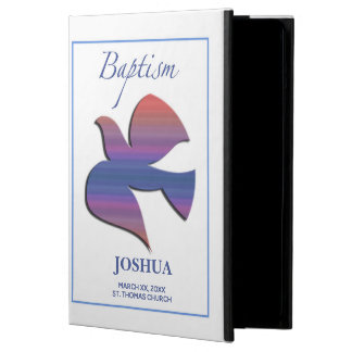 Customizable, Adult Baptism Dove iPad Air Cover