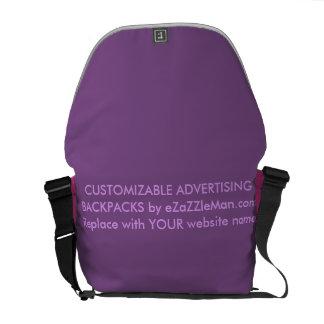 CUSTOMIZABLE ADVERTISING BACKPACKS  eZaZZleMan.com Courier Bag