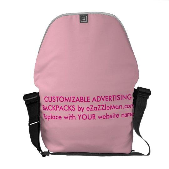 CUSTOMIZABLE ADVERTISING BACKPACKS  eZaZZleMan.com Messenger Bags