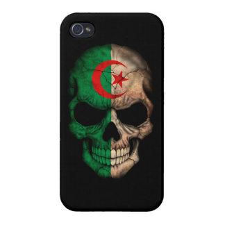 Customizable Algerian Flag Skull iPhone 4/4S Cases