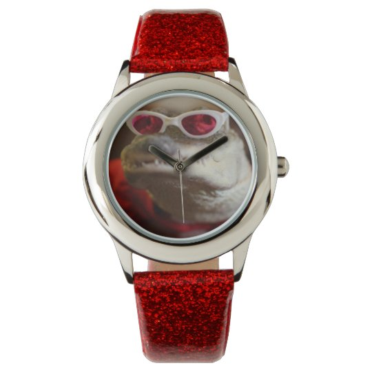 Customizable Alligator Watch