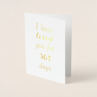 Customizable Anniversary Card - Counting Love Days