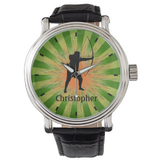 Customizable Archery Design Watch