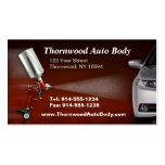 CUSTOMIZABLE Auto Body BC Business Card