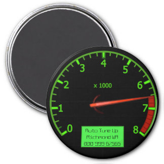 Customizable Auto business Magnet