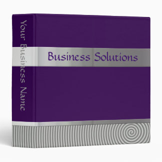 Customizable Avery Business Binder