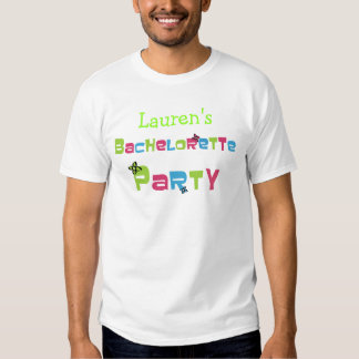 Customizable Bachelorette Party Products T Shirts