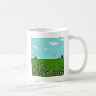 Customizable background (1) classic white coffee mug