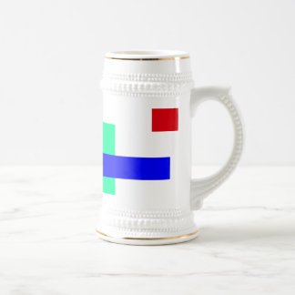 Customizable Background Color 18 Oz Beer Stein