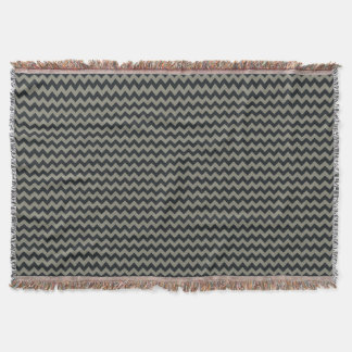 Customizable Background Color Chevron Afghan Throw