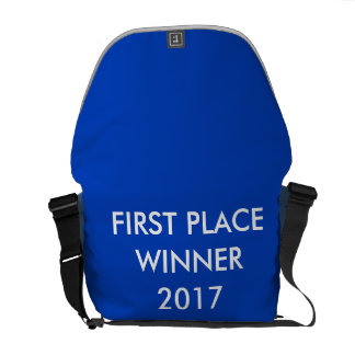 Customizable Backpack w/ First Place Winner on it Courier Bags