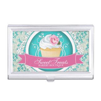 Customizable Bakery Business Card Holder