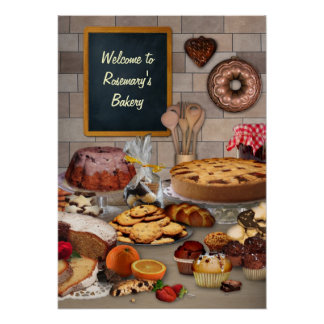 Customizable Bakery Poster