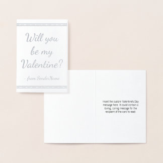 Customizable & Basic Valentine's Day Card