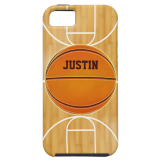 Customizable Basketball Court Case For The iPhone 5