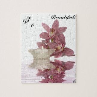 Customizable Beautiful Life Puzzle w/ gift box