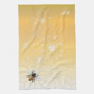 Customizable: Bee Kitchen Towel