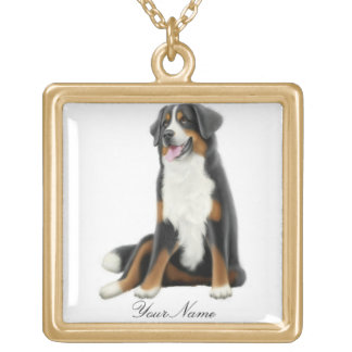 Customizable Bernese Mountain Dog Necklace