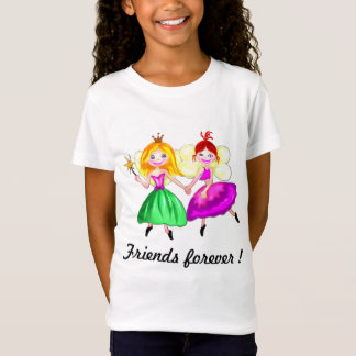 Customizable Best friends princess fairies T-Shirt