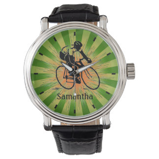 Customizable  Biking Design Watch