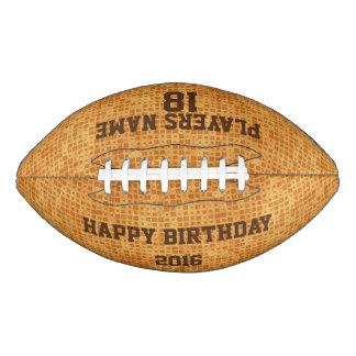 Customizable Birthday Football