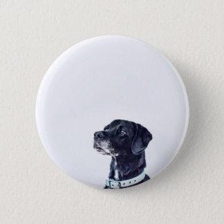 Customizable Black Labrador Retriever 2 Inch Round Button