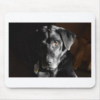 Customizable Black Labrador Retriever Mouse Pad
