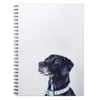 Customizable Black Labrador Retriever Notebook