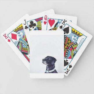 Customizable Black Labrador Retriever Poker Deck