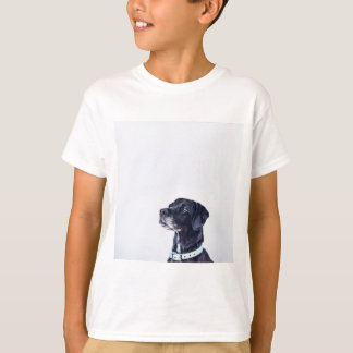 Customizable Black Labrador Retriever T-Shirt
