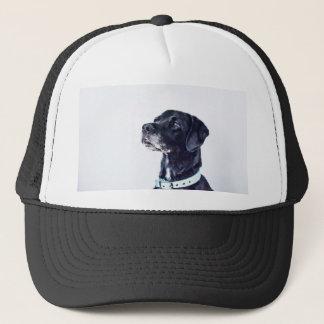 Customizable Black Labrador Retriever Trucker Hat