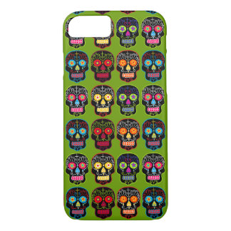 Customizable Black Sugar Skulls iPhone 8/7 Case