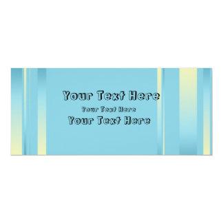 Customizable Blue Ribbon Invitation