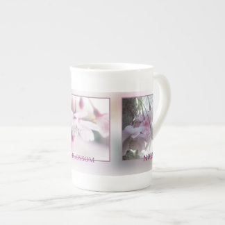 Customizable Bone China Mug in Blossom