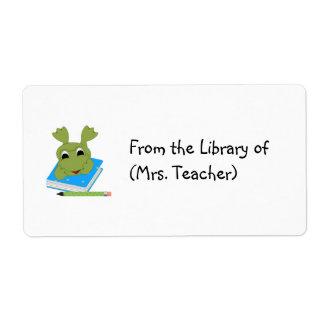 Customizable Book Label Tag/ Sticker