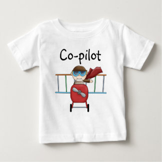 Customizable Boy Ace Pilot T-shirt