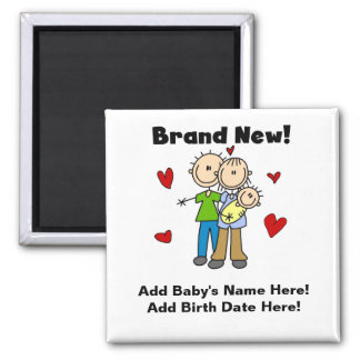 Customizable Brand New Baby Magnet