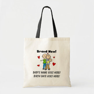Customizable Brand New Baby Tote Bag