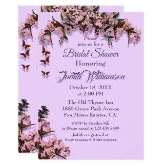 Customizable Bridal Shower Invitation UltraViolet