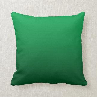 Customizable Bright Green Gradient Pillow