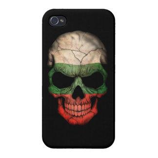Customizable Bulgarian Flag Skull Case For iPhone 4