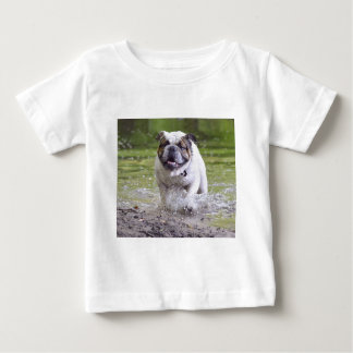 Customizable Bulldog Baby T-Shirt