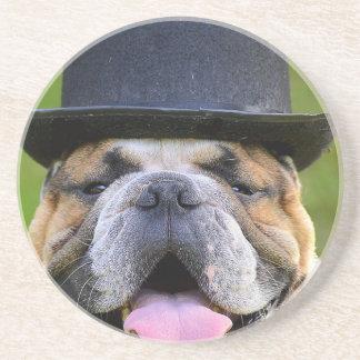 Customizable Bulldog Coaster