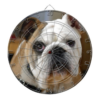 Customizable Bulldog Dartboard