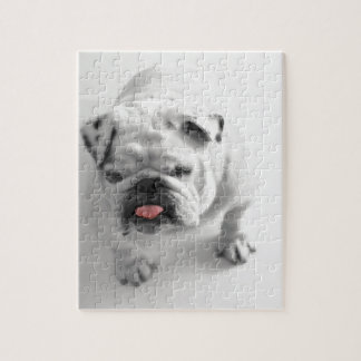 Customizable Bulldog Jigsaw Puzzle