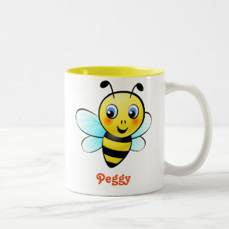 Customizable Bumblebee Two-Tone Coffee Mug