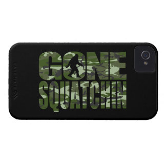 Customizable Camo Gone Squatchin iPhone 4 Case-Mate Case