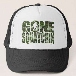 Customizable Camo Gone Squatchin Trucker Hat