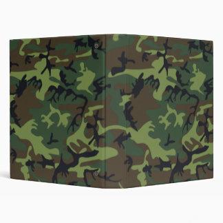 Customizable Camouflage Design Avery Binders